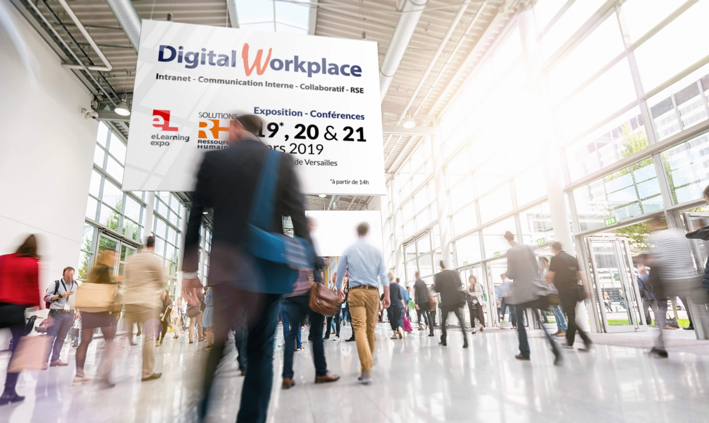 Digiwin au Salon de l'intranet 2019, Digital Workplace
