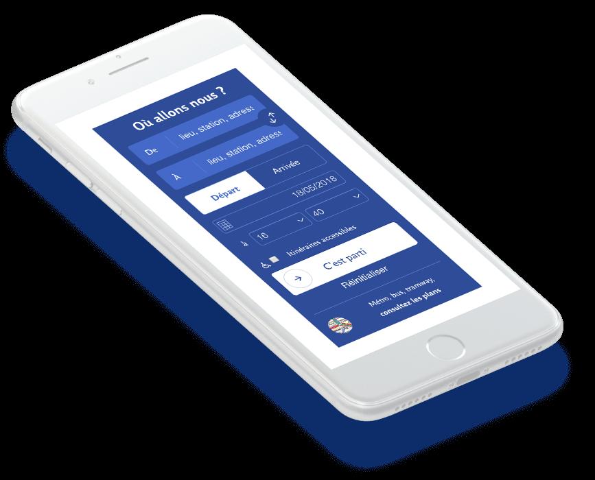 Site RATP - Solution portail digital
