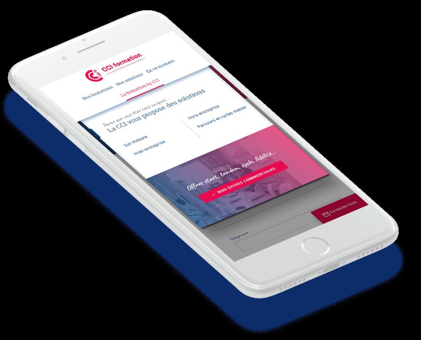 Intranet mobile CCI Formation - Solution portail digital